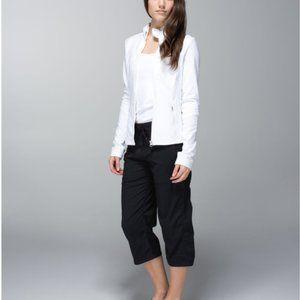 lululemon Studio Crop black cropped pants sz 6